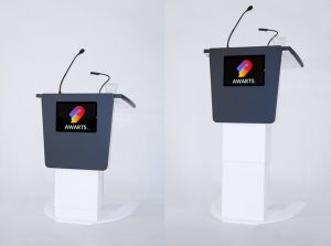 Project: ANTICA multimedia lecterns for Novotel Warszawa Centre Hotel