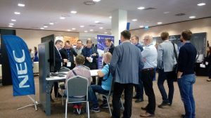 2019 Nec Competence Days – AWARTS huddle room table was there :)