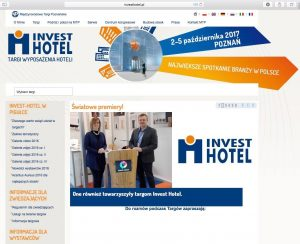 Invest Hotel 2016 – International Fairs in Poznan