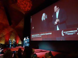 Camerimage 2019 – Mr. Quentin Tarantino and Mr. Robert Richardson