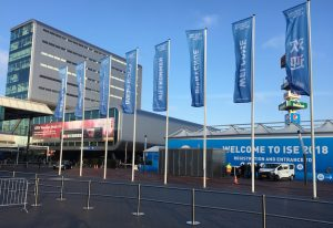 AWARTS on ISE 2018 in Amsterdam