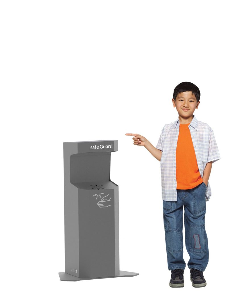 touchless hand sanitizer by Awarts