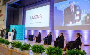 Empora podium in University of Mons, Belgium